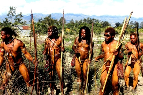 Dani Tribe in baliem valley