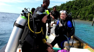 Dive in Raja Ampat west Papua