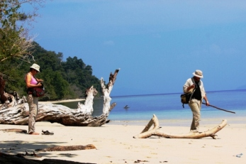 beach of Kwatisore Nabire