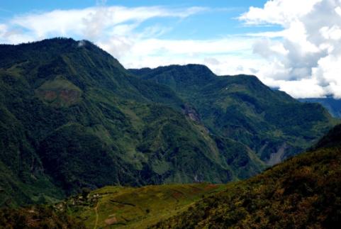 Baliem gorge in papua