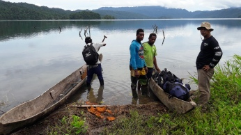 Lake Kamaka, west papua