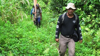 Trekking to Lake Kamaka West Papua