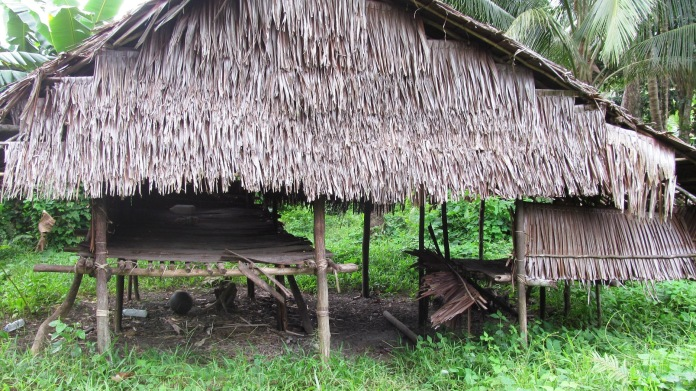 traditional houses of Mairasi tribe in kaimana