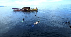 Snorkeling in in Nabire West Papua