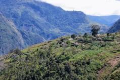 trekking in the baliem valley