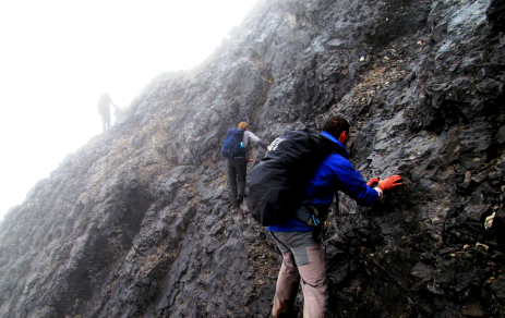 climbing mt trikora papua