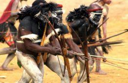 baliem valley festival in papua