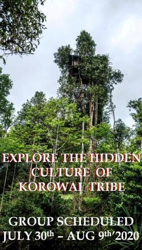 korowai tribe in papua